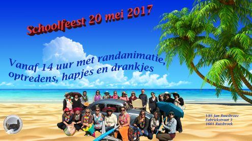 Schoolfeest affiche test